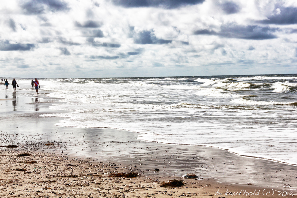 Spaziergang an der Nordsee (HDR)