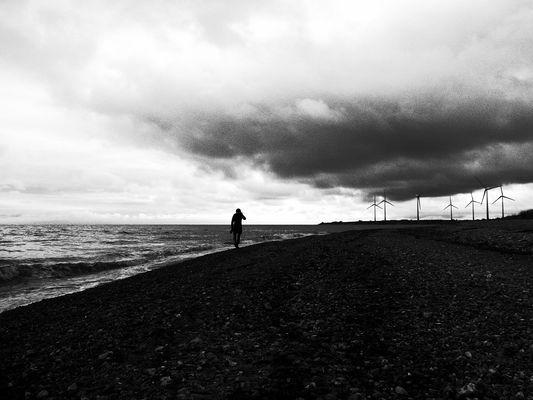 Spaziergang an der Ostsee-Küste I