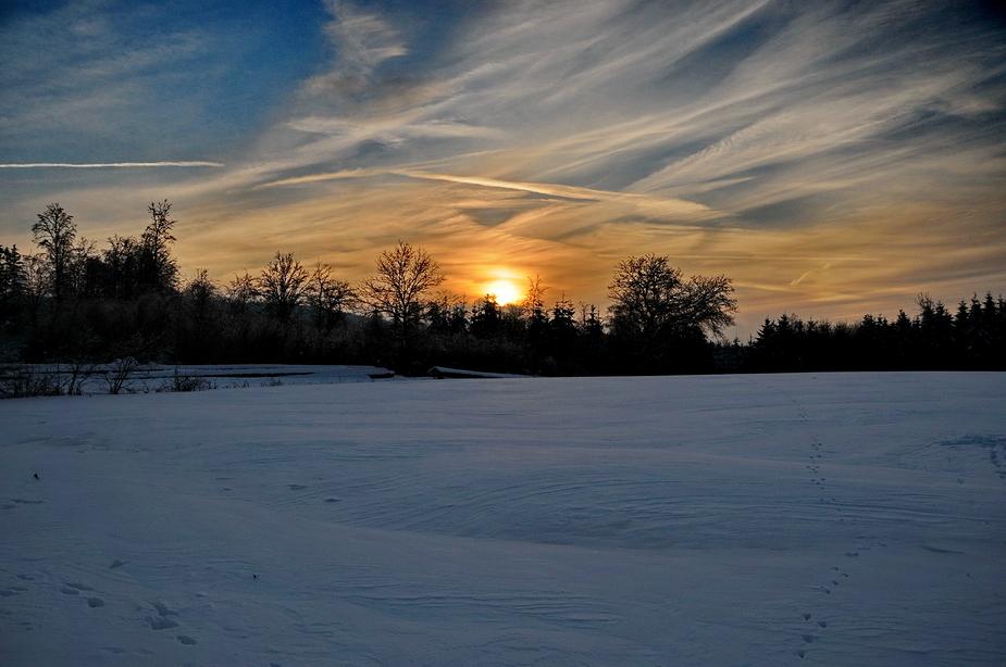 Spaziergang durch den Winter