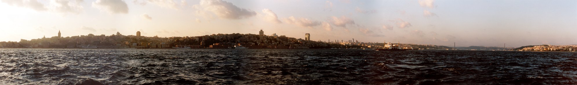 Spaziergang durch Istanbul (18): Skyline-Panorama