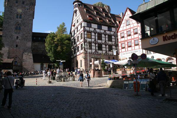 Spaziergang durch Nürnberg