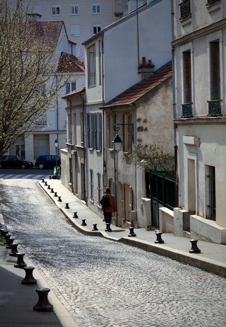 Spaziergang durch Paris
