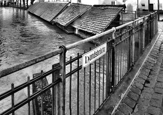 Spaziergang Forchheim - Hundsbrücke und Fischkästen