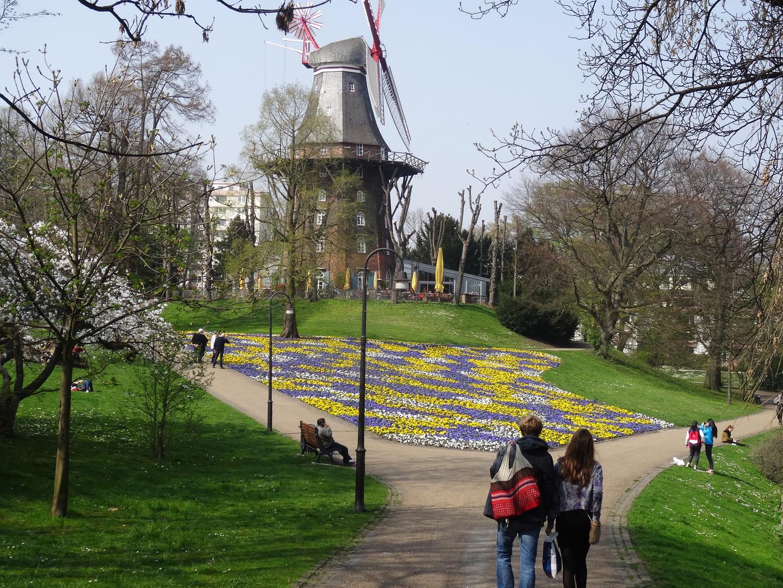 Spaziergang im Frühling