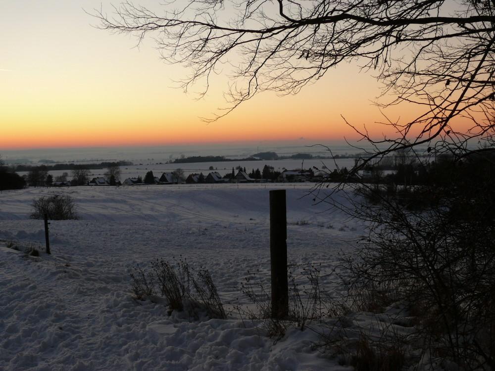 Spaziergang im Schnee - einfach wunderschön