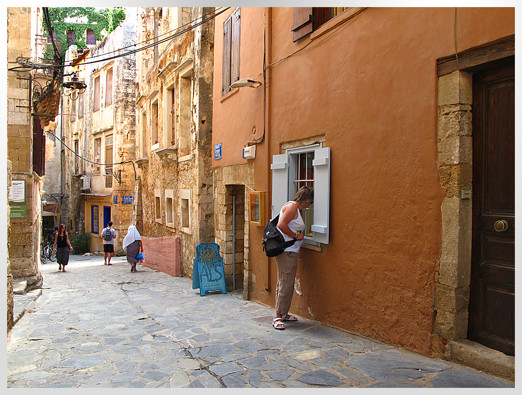Spaziergang in Chania