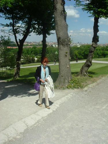Spaziergang in Schönbrunn