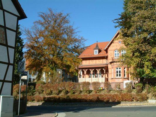 Spaziergang in Zella-Mehlis Herbst 2003