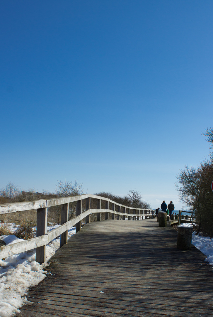 Spaziergang ins Blaue