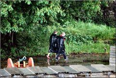 «Spaziergang mit Regen»