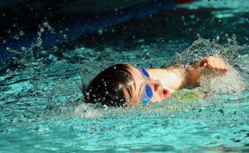 Special Olympics - Natation à Lugano - Nage