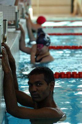 Special Olympics - Natation à Lugano - Start