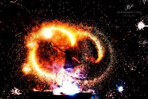Spectacle de feux
