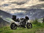 Speed Triple am Arlberg