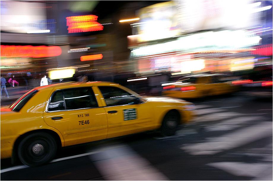 Speeding in Manhattan :)