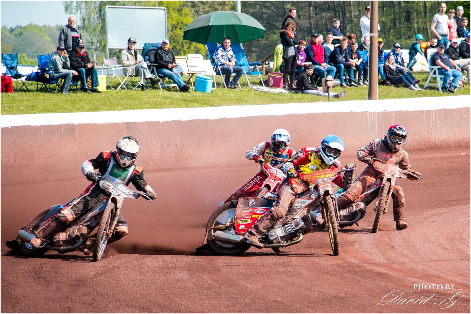 Speedway Rennen-3 in Neuenknick