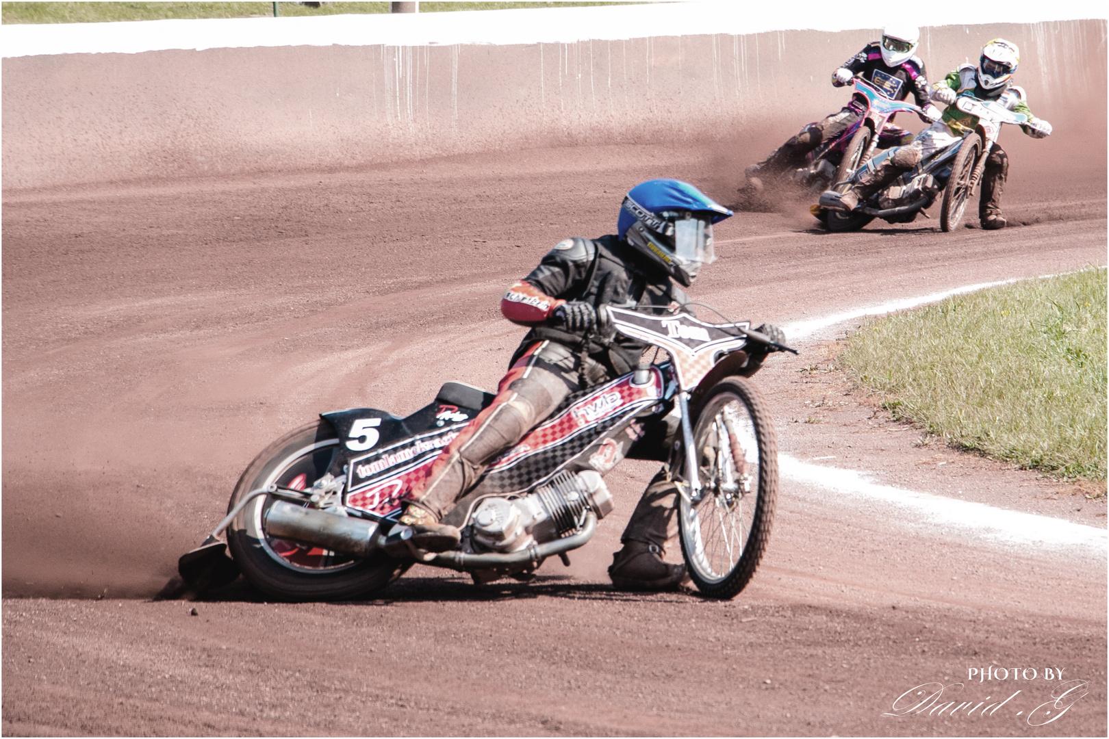 Speedway Rennen-4 in Neuenknick