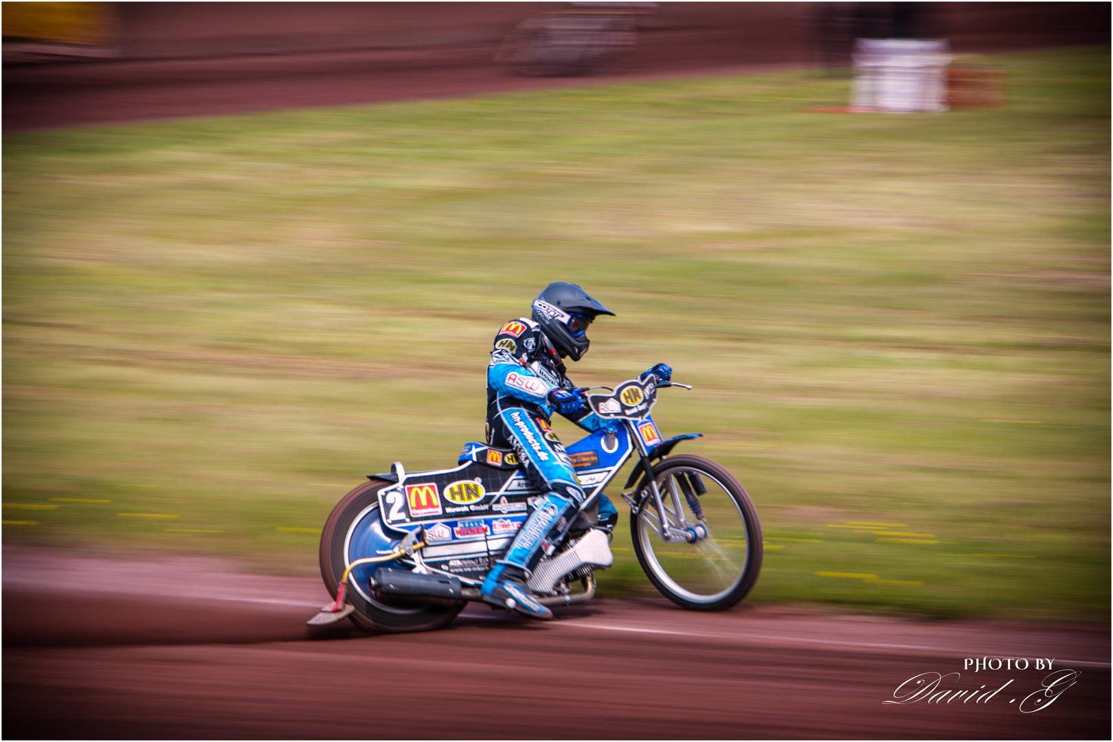 Speedway Rennen in Neuenknick