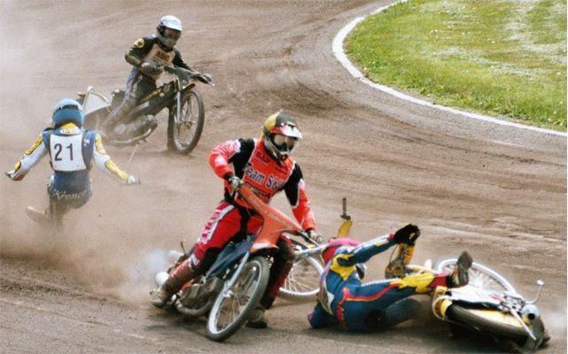 Speedway Sturz