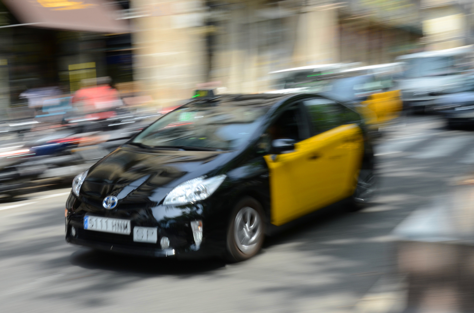 Speeeeeeddddd - Rush Hour in Barcelona