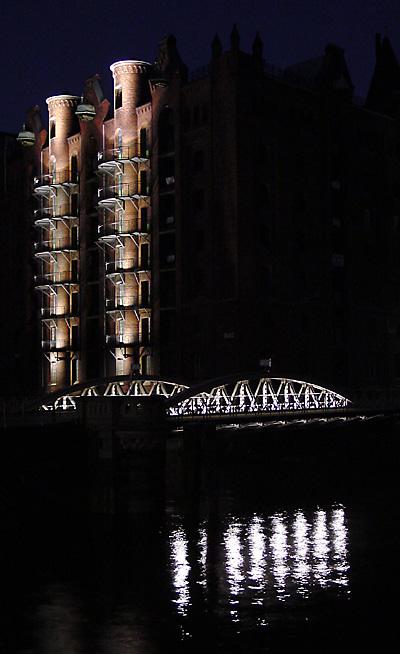 Speicher, Brücke, Reflexe