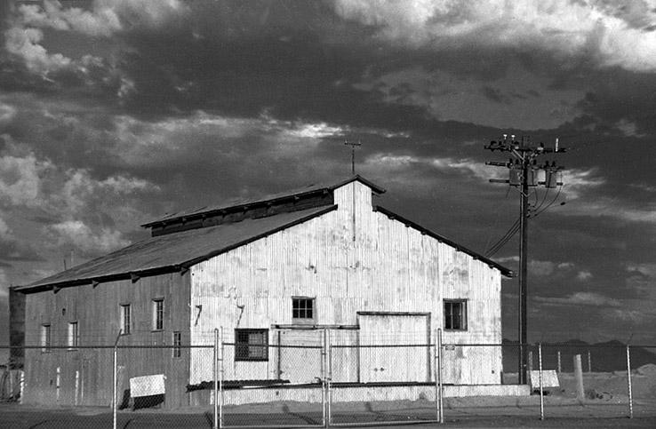 Speicherhaus im Westen der USA