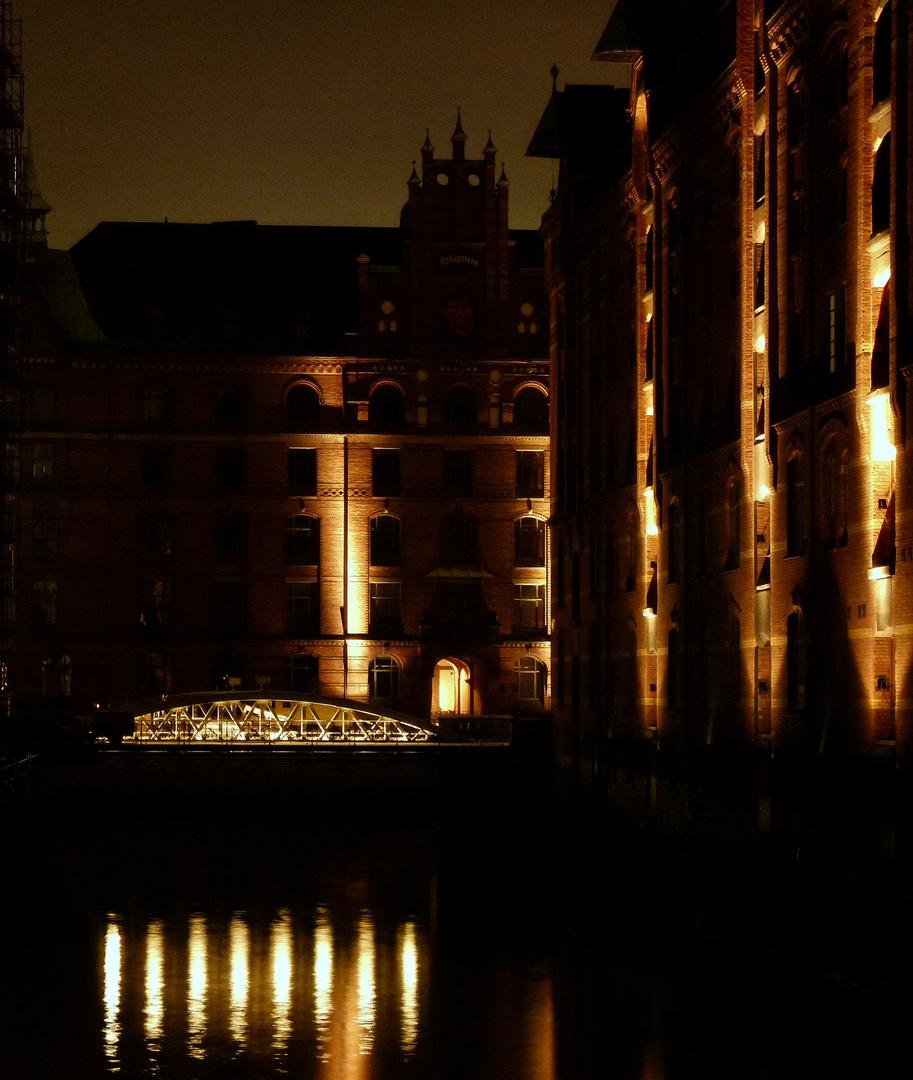 Speicherstadt bei Nacht 4