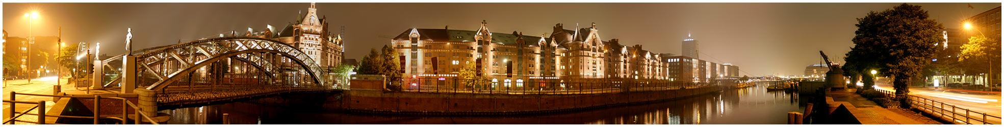 Speicherstadt by Night