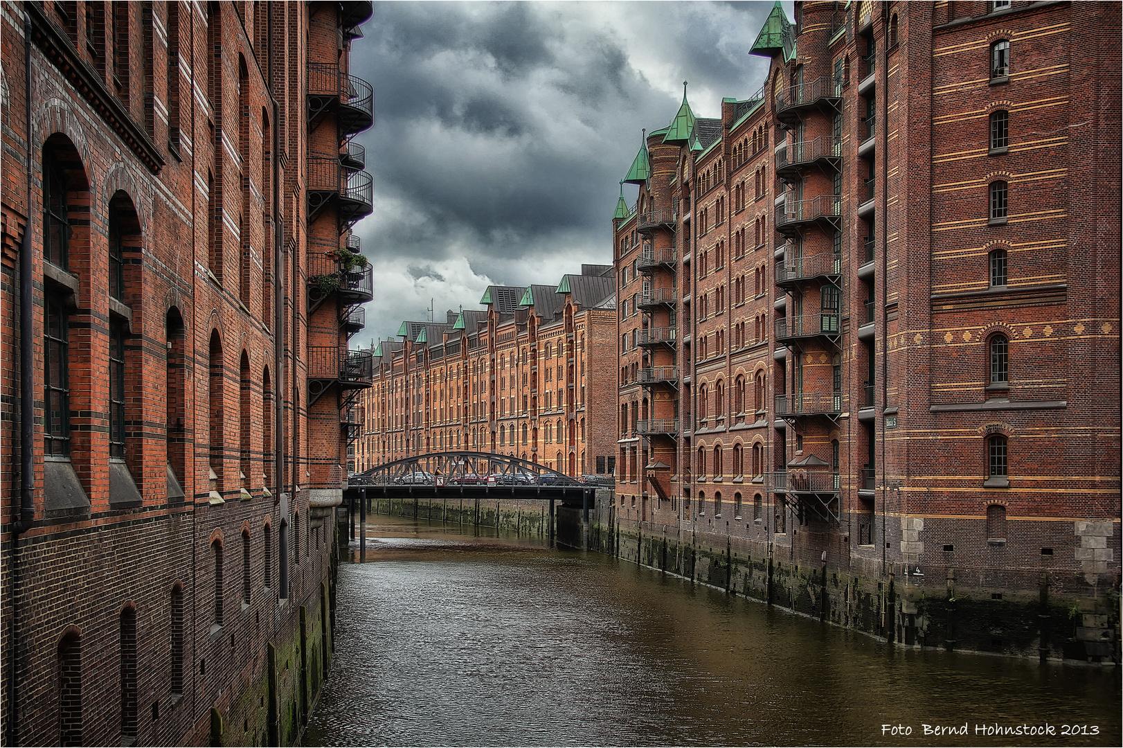 Speicherstadt ... Hamburg