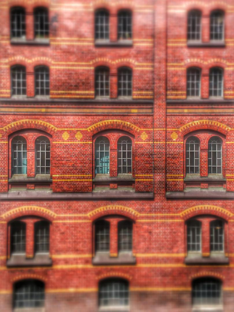 Speicherstadt Hamburg - Fenster des Speichers