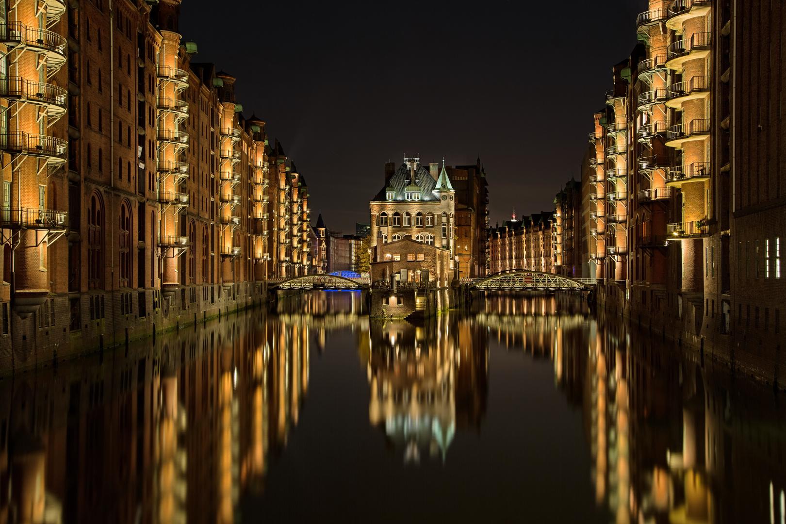 Speicherstadt Hamburg Wassereschlösschen 005