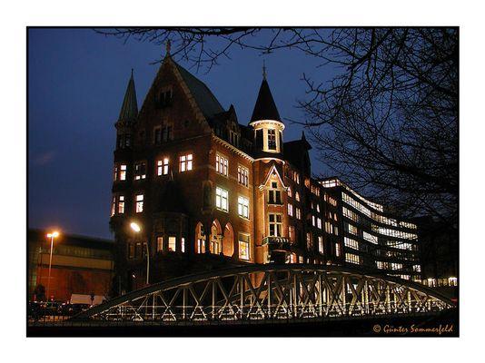 Speicherstadt  I – Hamburg bei Nacht