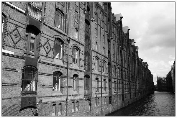 Speicherstadt S/W