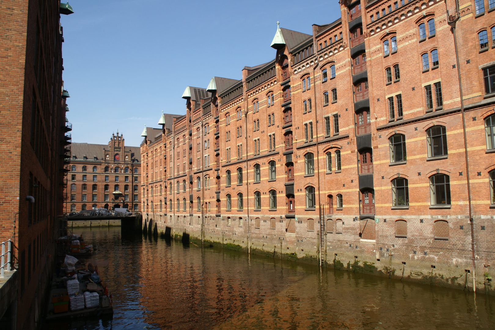 Speicherstadt von Hamburg