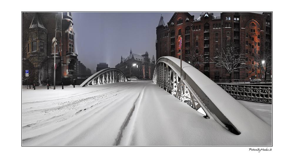 Speicherstadt --> Winter