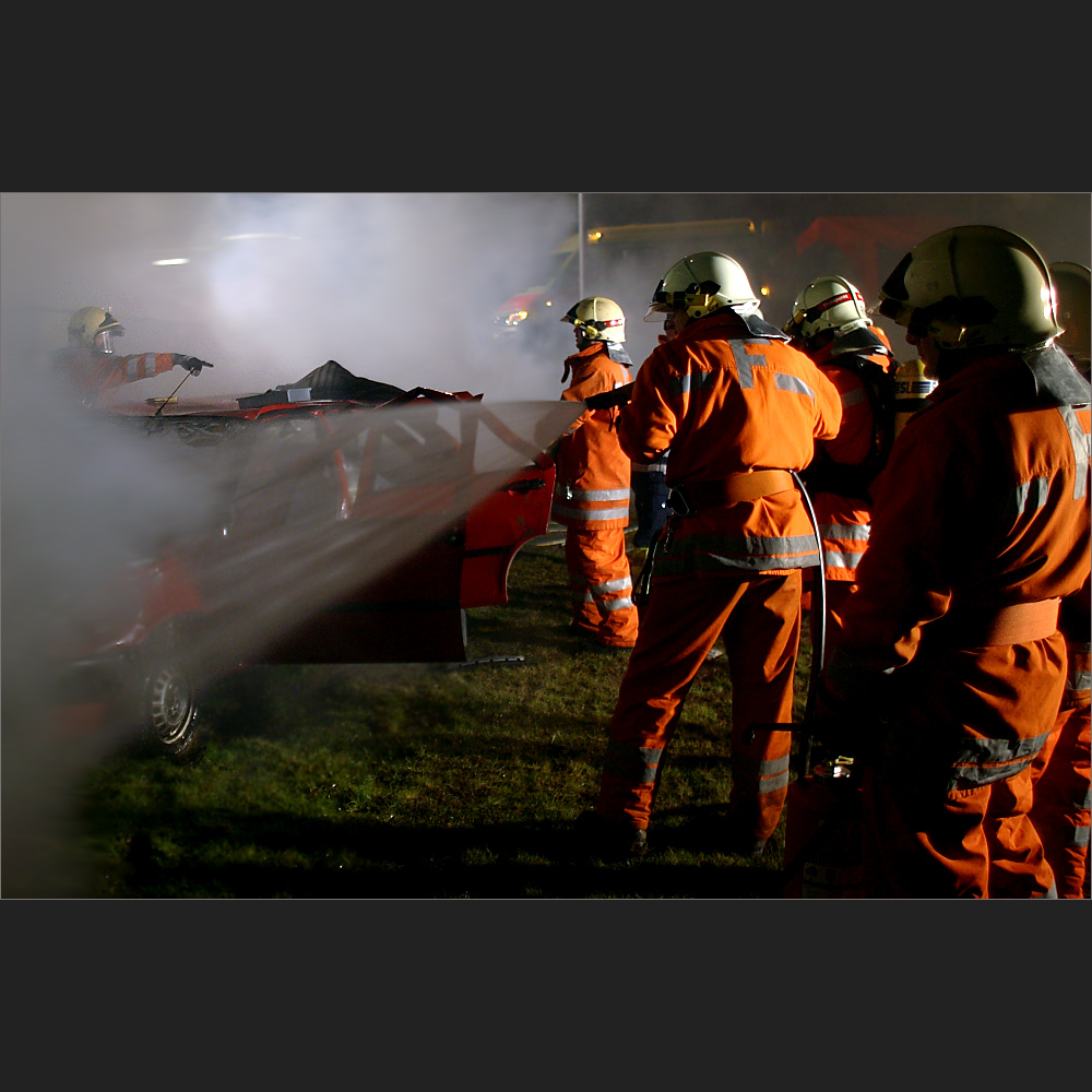 spektakuläerer Verkehrsunfall