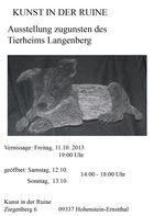 Spendenausstellung für das Langenberger Tierheim