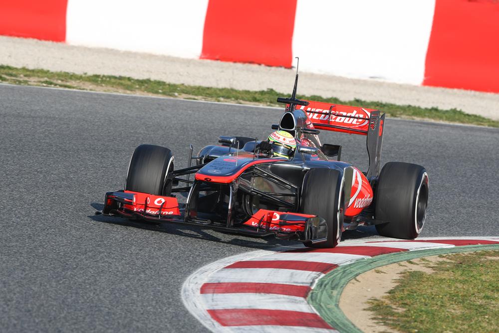S.Perez ( MEX - McLaren )