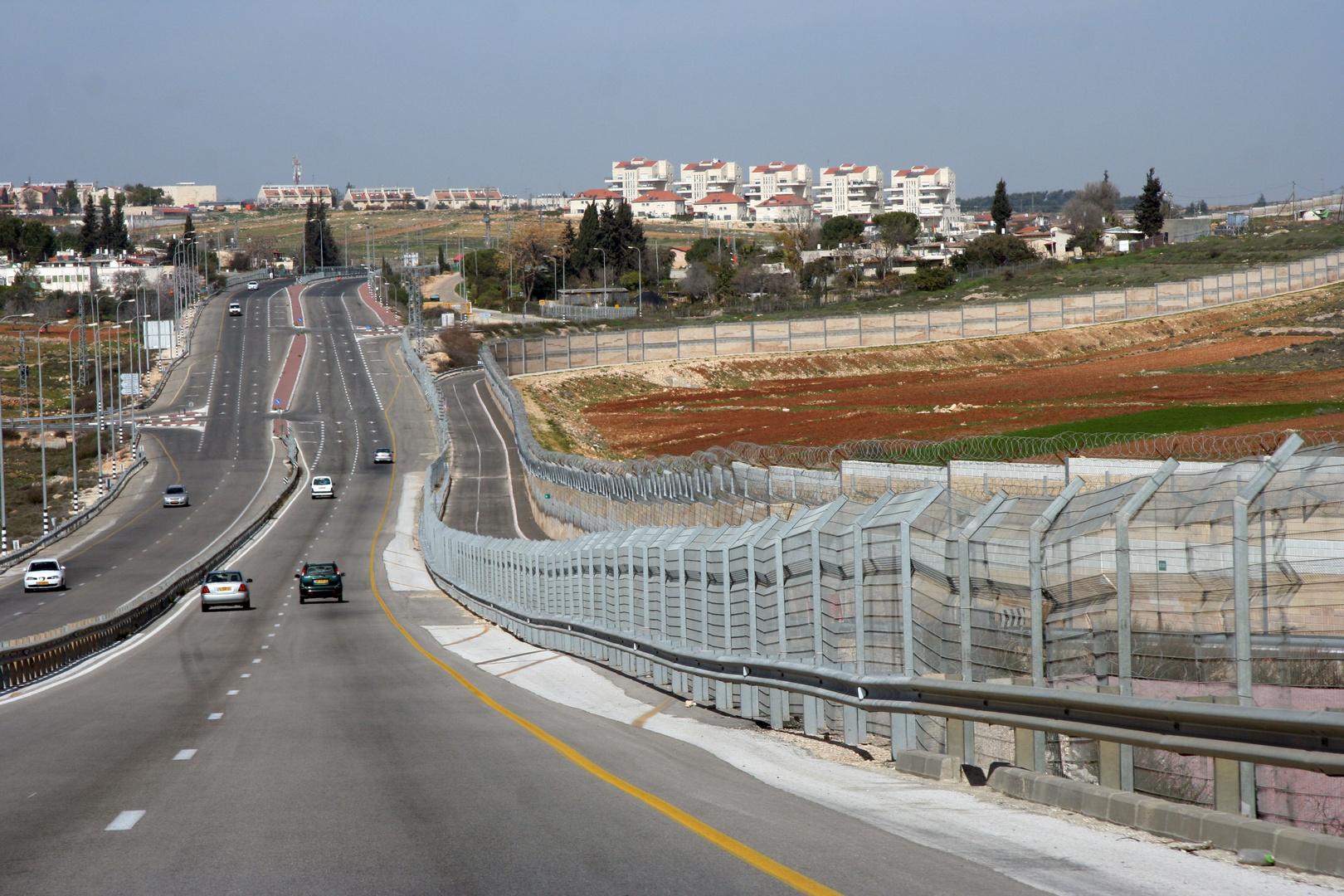 Sperranlage zu Palästina