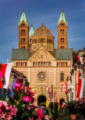 Speyer... #01 - Kaiserlich, der Dom