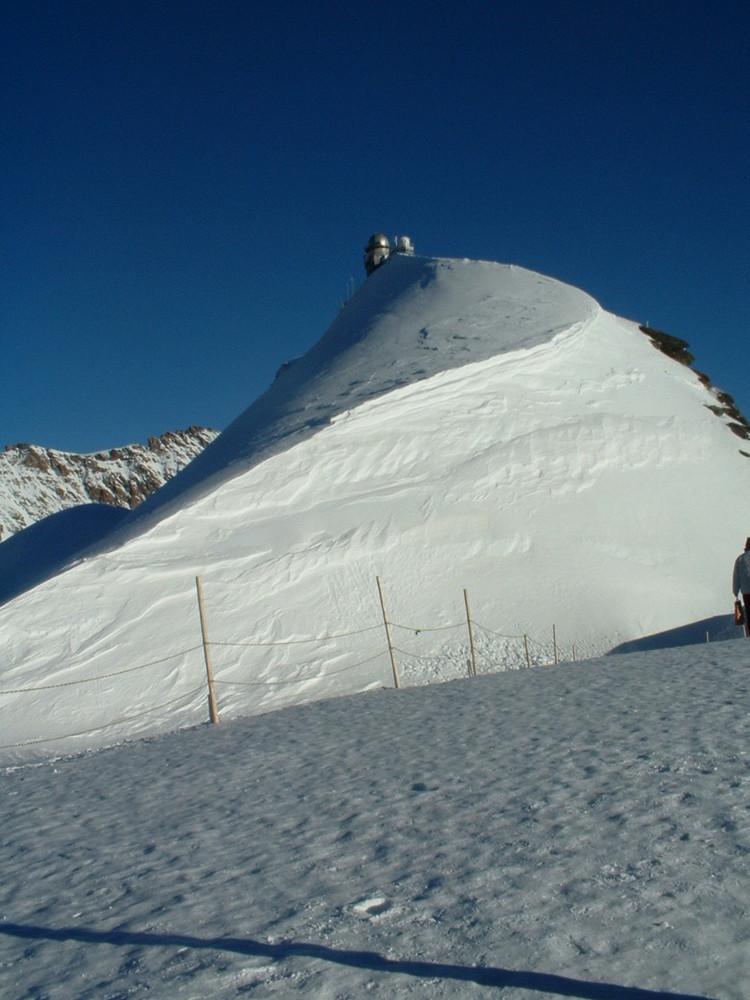 Sphinx, das Observatorium auf dem Jungfraujoch.