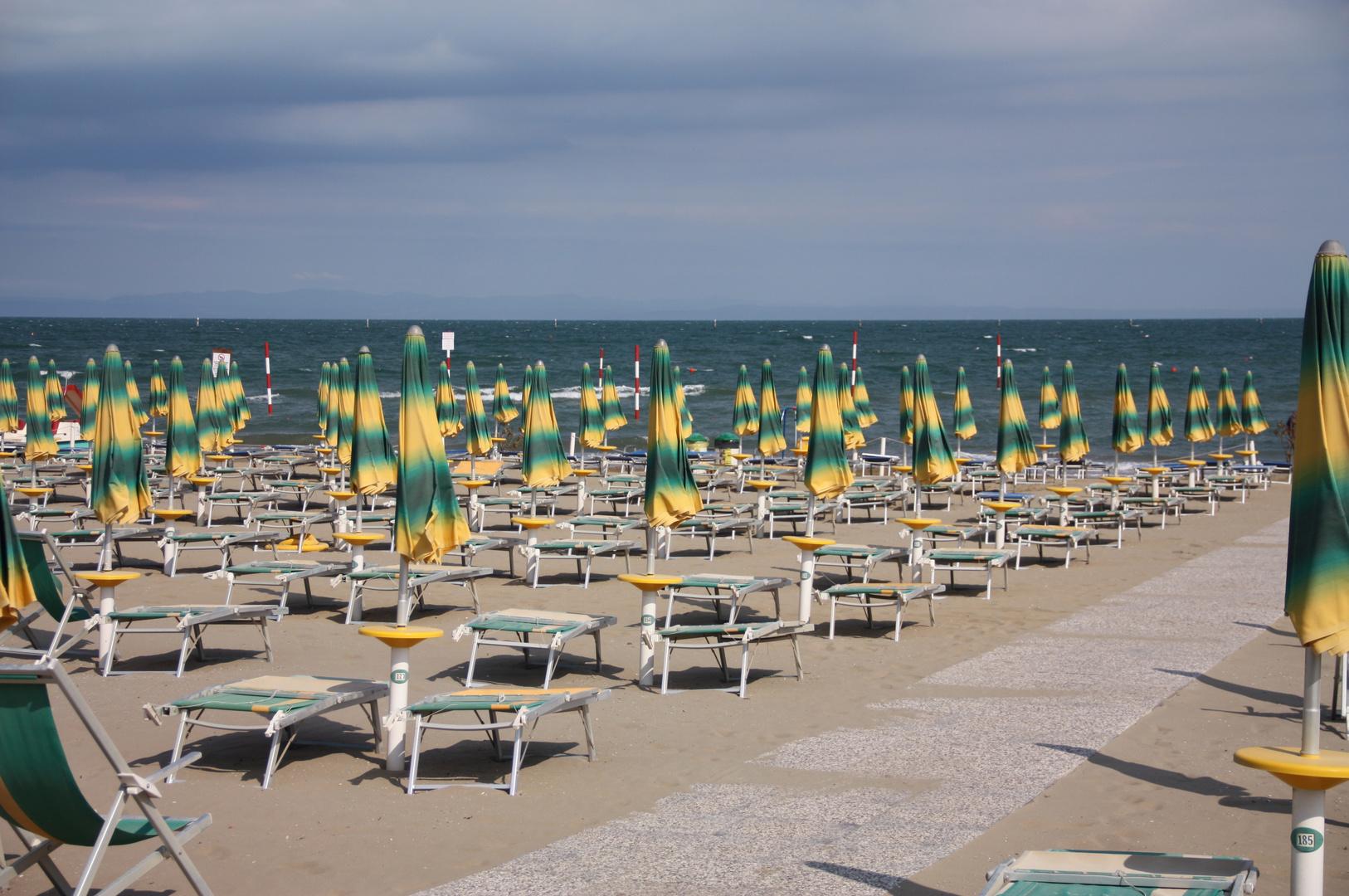 Spiaggia a Lignano