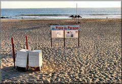 Spiaggia del Paradiso..fine giornata.