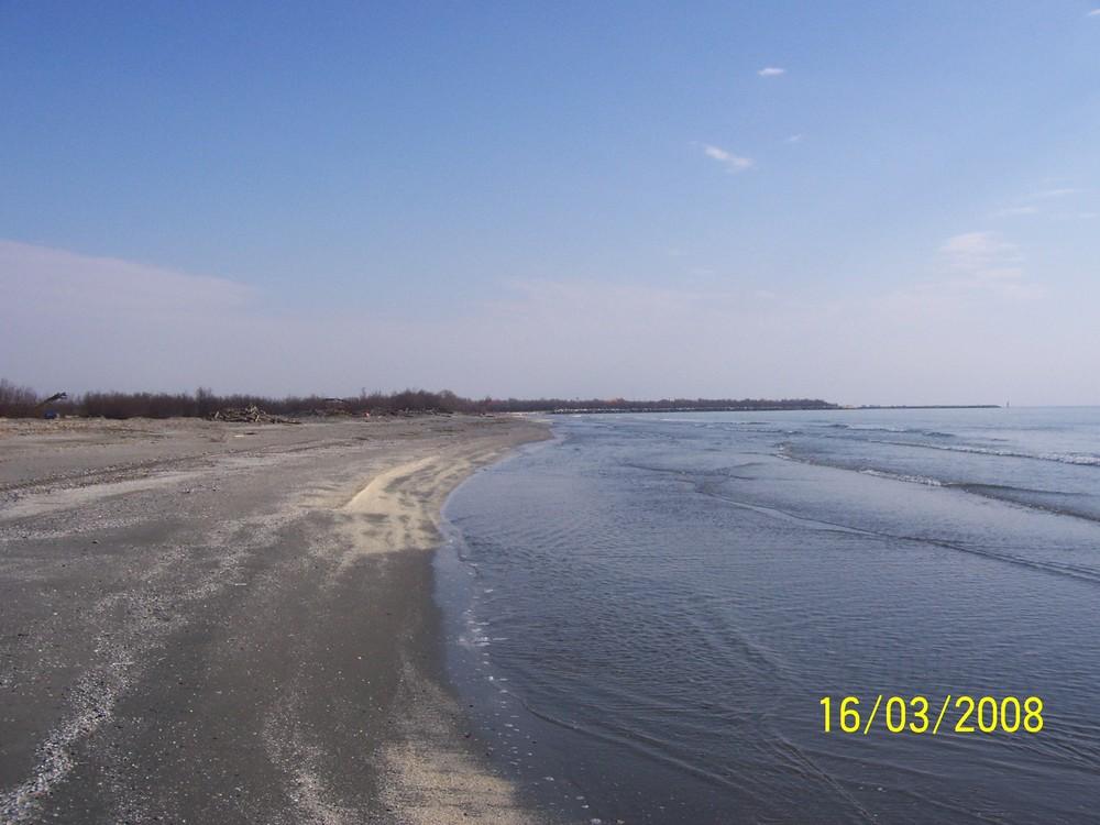 Spiaggia di Barricata d'inverno
