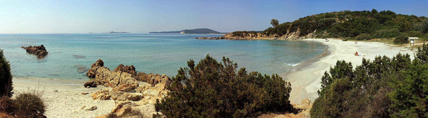 Spiaggia di is Traias!