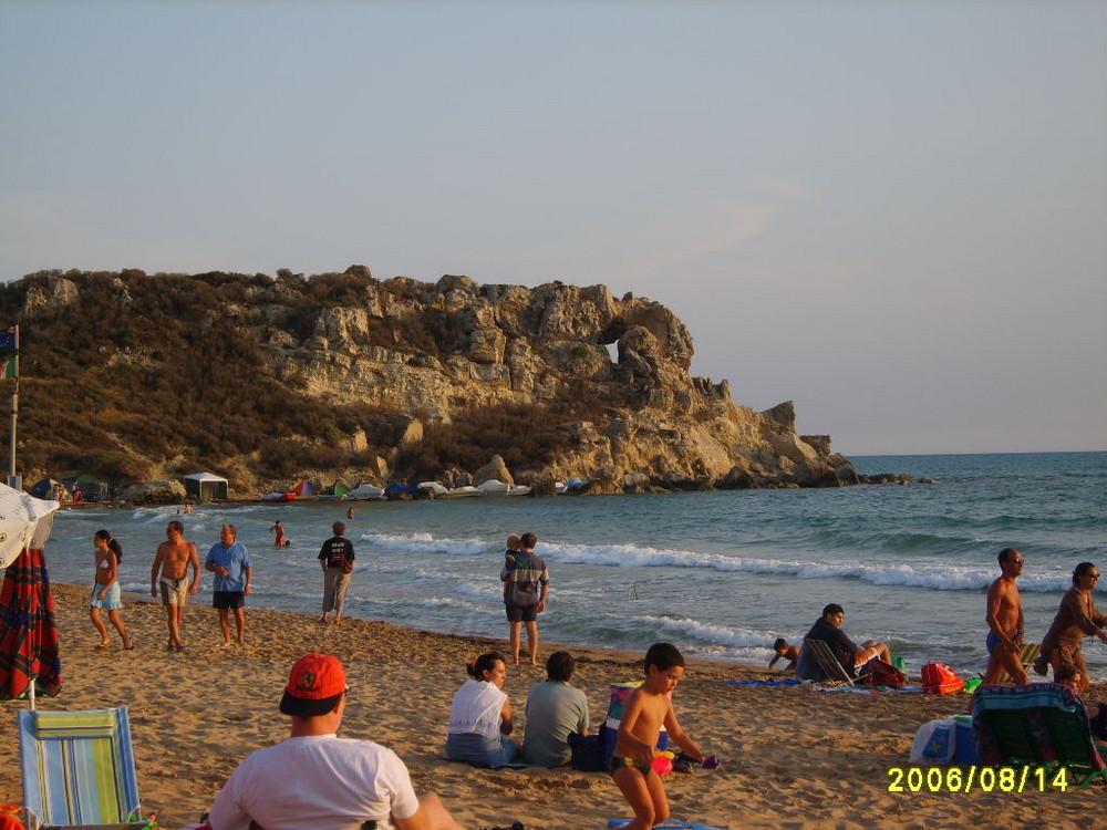 spiaggia di LICATA in Sicilia