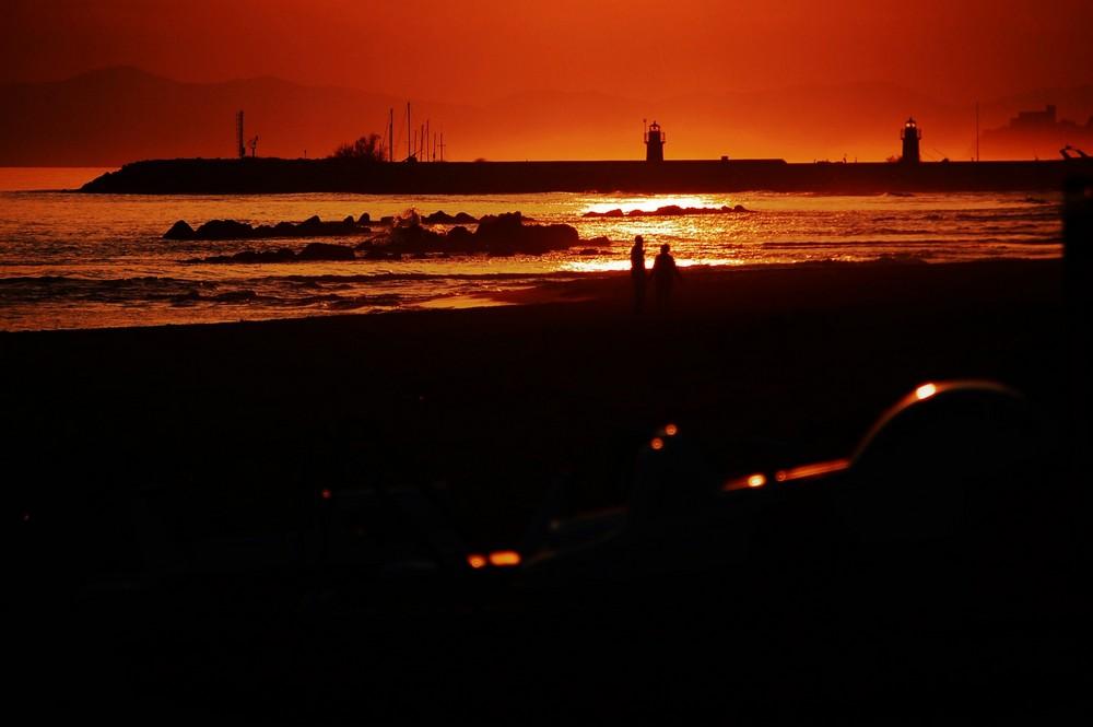 ...Spiaggia dorata...