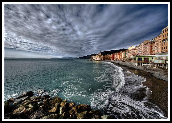 Spiaggia e mare Ligure