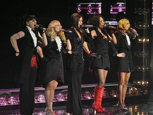 Spice Girls in Köln 20.12.2008