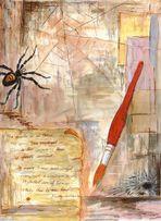 [spider as an artist]